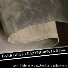 Dark Gray Crazyhorse