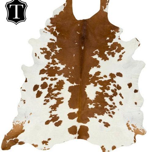 Hair on Rug - Holstein Breed (Brown & White)