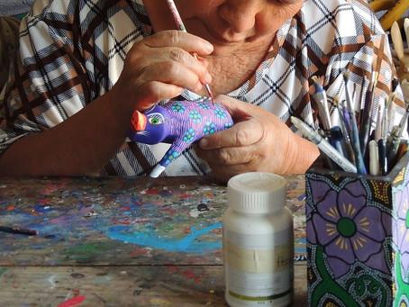 Nouveaux ateliers d'art-thérapie au Centre Louise-Amélie