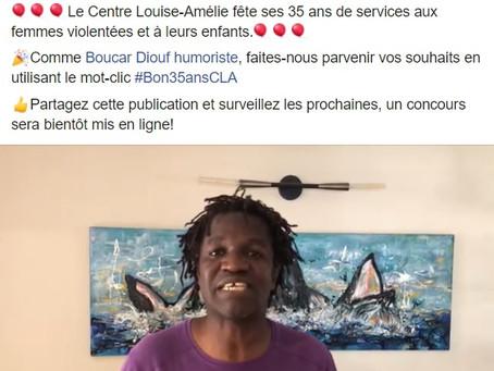 Le Centre Louise-Amélie souligne son 35e anniversaire d'incorporation
