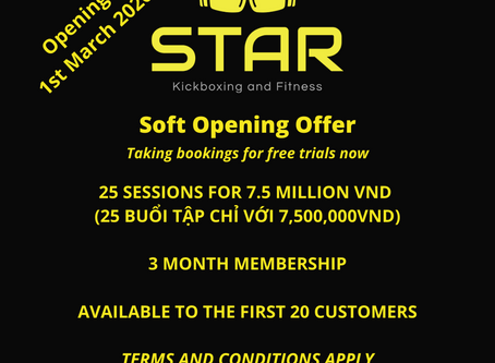 Opening Offers - March 2020!