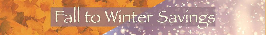 Fall Into Winter Savings Website mini ba