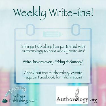 Weekly write-in's Inklings Publishing.jp