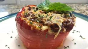 Wild Lasagna Stuffed Peppers