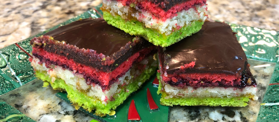 Rainbow (Italian Flag) Cookies
