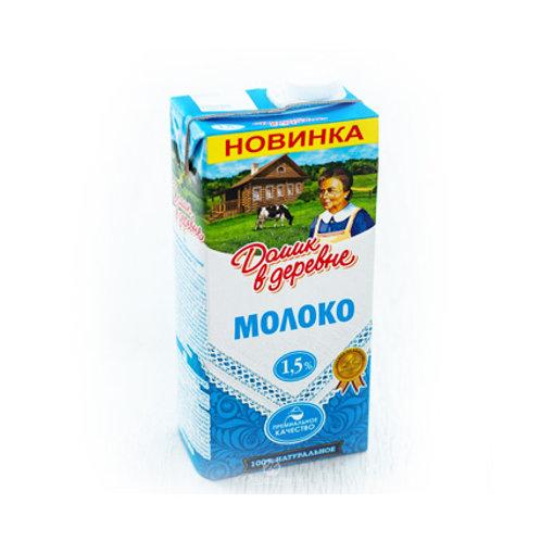 Молоко Домик в деревне 1,5% 1л.