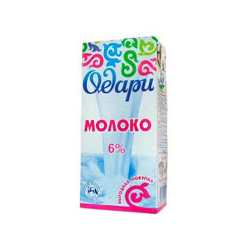 Молоко Одари 6%