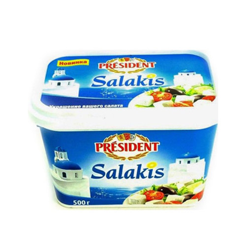 Сыр PRESIDENT SALAKIS 45% 500гр.