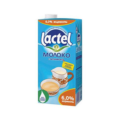 Молоко Lactel 6%