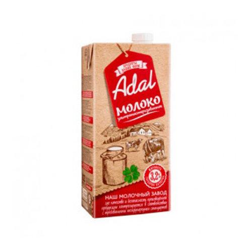 Молоко Адал 3,2% 1л.