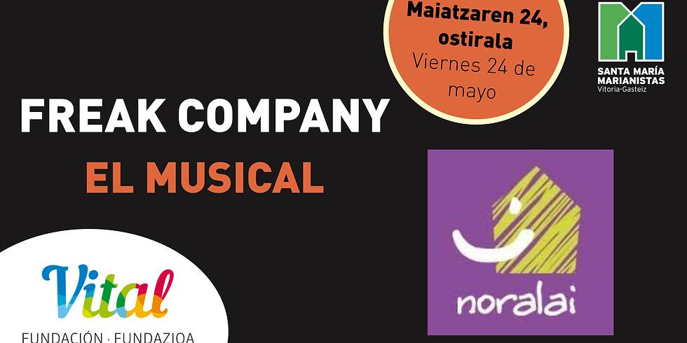 TEATRO MUSICAL MARIANISTAS - Maiatzaren 24, ostirala - ACTUACIÓN NORALAI