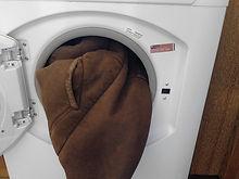 sheepskin washing instrution