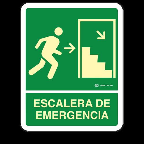 Escalera de Emergencia (20 x 25 cm.)