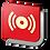 Thumbnail: Alarma contra incendio (18.5 X 18.5 cm.)