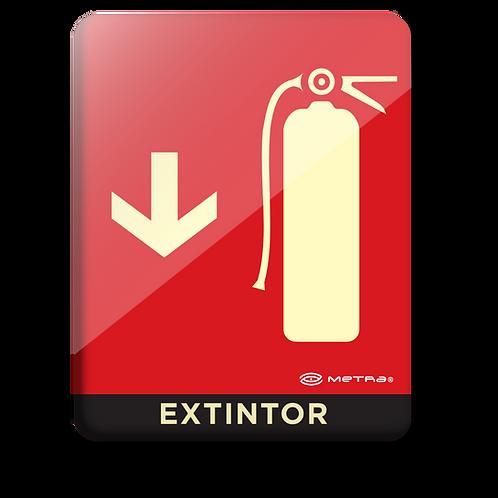 Extintor (16 x 20 cm.)