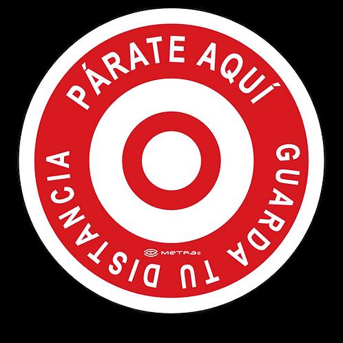 Círculos de seguridad (Ø=30 cm) 5 pzas.