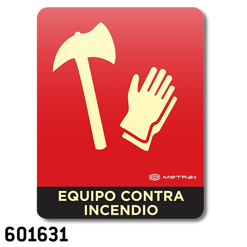 Equipo Contra Incendio (16 x 20 cm.)