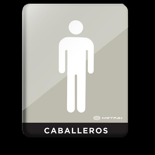Caballeros  (16 x 20 cm.)