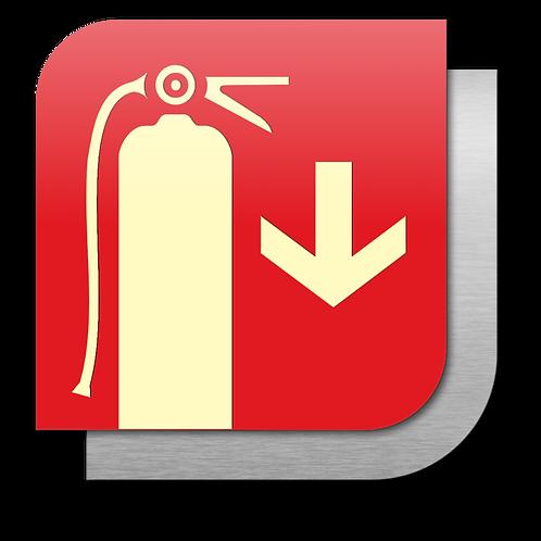 Extintor (18.5 X 18.5 cm.)