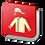 Thumbnail: Equipo contra incendio (18.5 X 18.5 cm.)