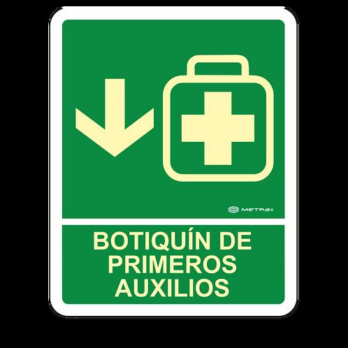 Botiquín de Primeros Auxilios (20 x 25 cm.)