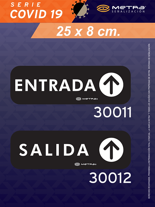 Copia de Acceso y sentido (25x8 cm.) 2 pzas.