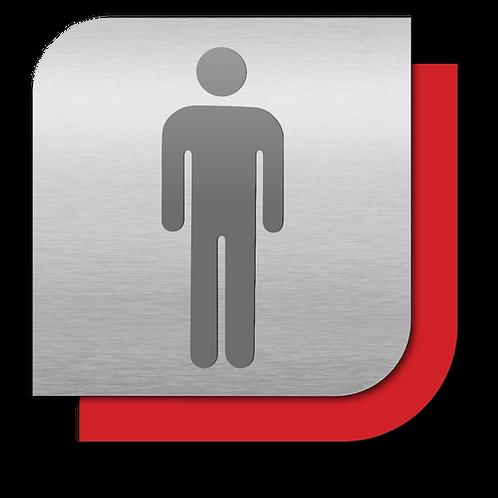 Sanitarios Hombres (18.5 X 18.5 cm.)
