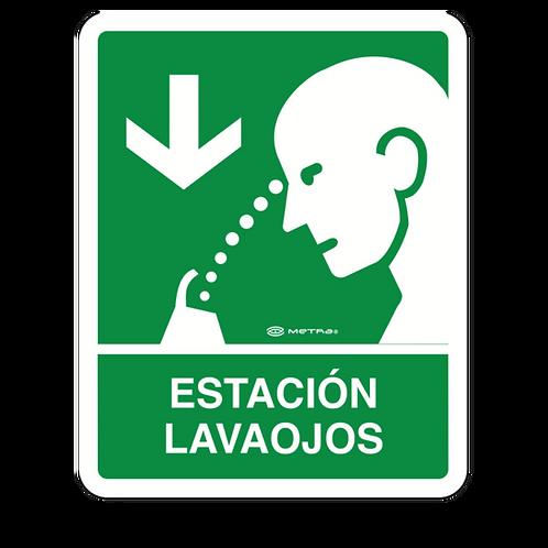 Estación Lavaojos (20 x 25 cm.)