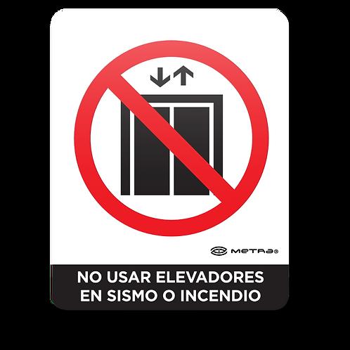 No usar elevadores (16 x 20 cm.)