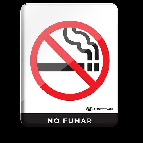 No fumar (16 x 20 cm.)