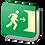 Thumbnail: Salida de Emergencia (18.5 X 18.5 cm.)