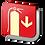 Thumbnail: Extintor (18.5 X 18.5 cm.)