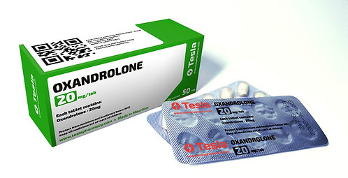 Tesla Pharmacy Oxandrolone 20mg/tab 50tab