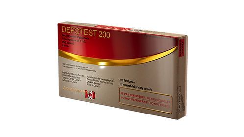 Canada Peptides DEPOTEST 200 (Testosterone cypionate) 200mg/ml