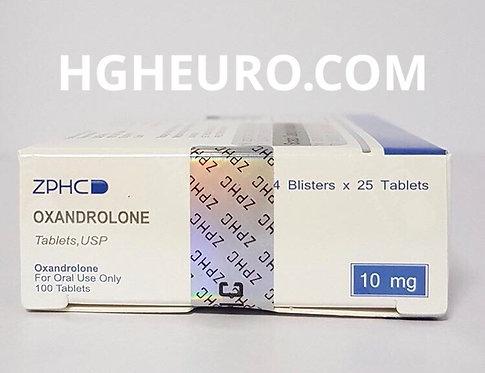 ZPHC Oxandrolone 10mg/tab 100 tab
