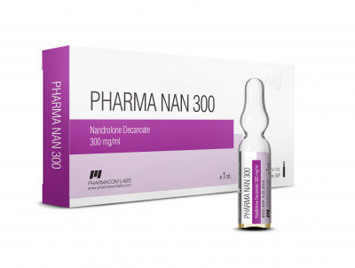 PHARMACOM LABS PHARMANAN D 300mg/ml 10 amp