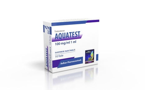 Balkan Pharmaceuticals AQUATEST 10 amp 100mg/ml