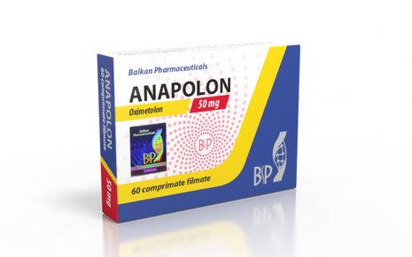 Balkan Pharmaceuticals ANAPOLON 20 tab 50mg/tab