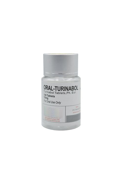 SPECTRUM ORAL-TURINABOL 100tab 10mg/tab