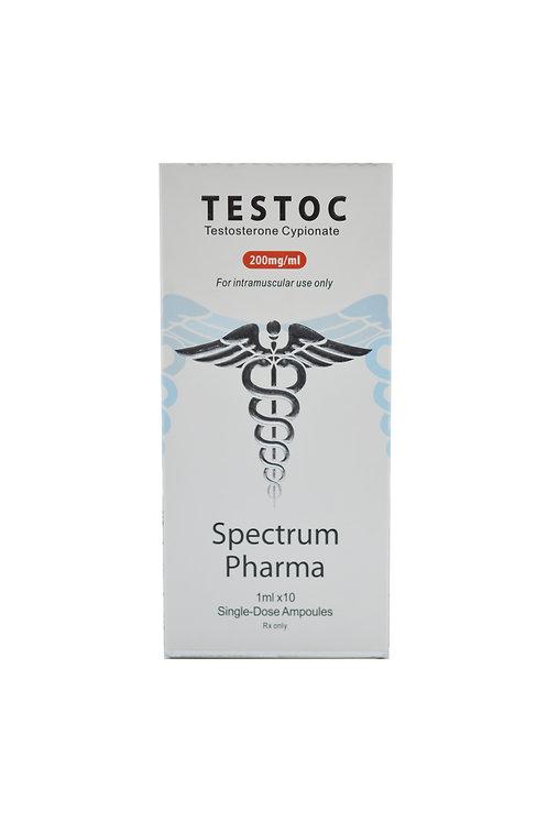 SPECTRUM TESTOC 200mg/ml 10amp