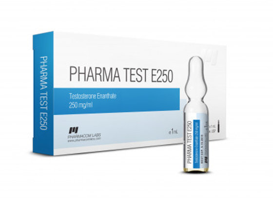 PHARMACOM LABS PHARMATEST E 250mg/ml 10 amp