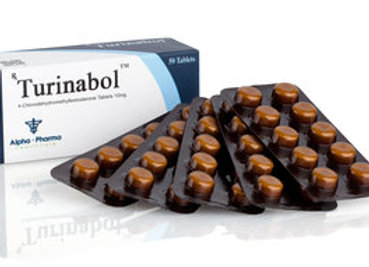 Alpha Pharma Turinabol 10mg/tab 50tab