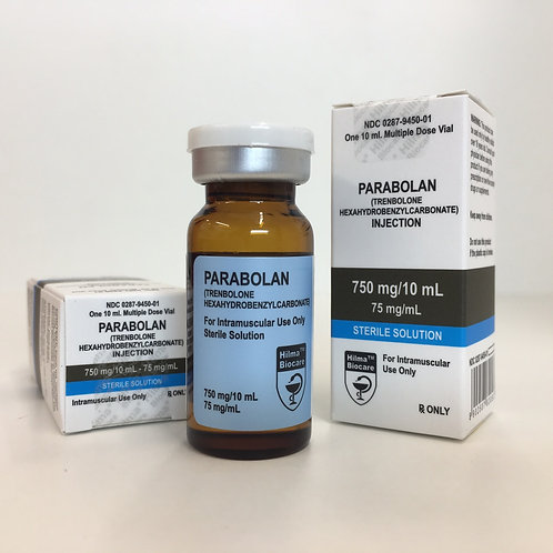 Hilma Biocare PARABOLAN (TRENBOLONE HEXAHYDROBENZYLCARBONATE) 75mg/ml 10ml