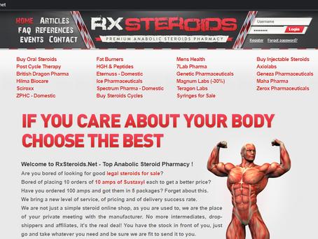 Rxsteroids Reviews - Roidslist.com