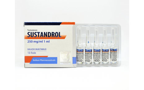 Balkan Pharmaceuticals SUSTANDROL 10 amp 250mg/ml