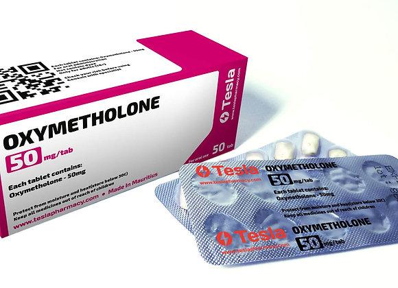 Tesla Pharmacy Oxymetholone 50mg/tab 50tab