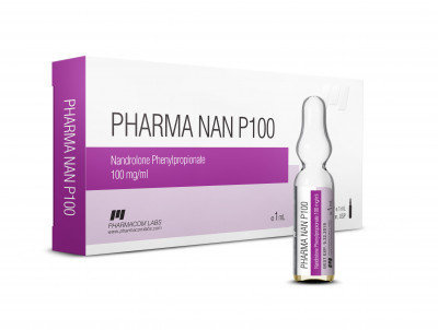 PHARMACOM LABS PHARMANAN P 100mg/ml 10 amp