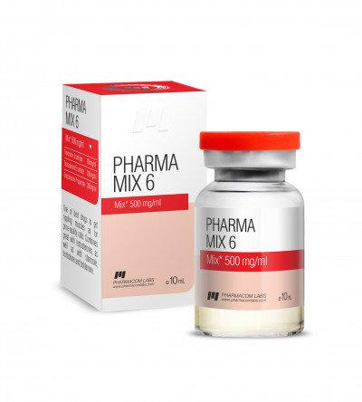 PHARMACOM LABS PHARMAMIX 6 500MG/ML 10ML
