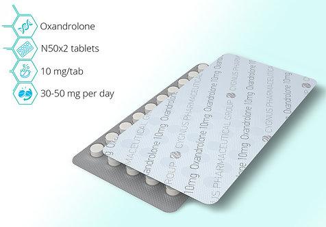 Cygnus Pharmaceutical Oxandrolone 10mg/tab 100tab
