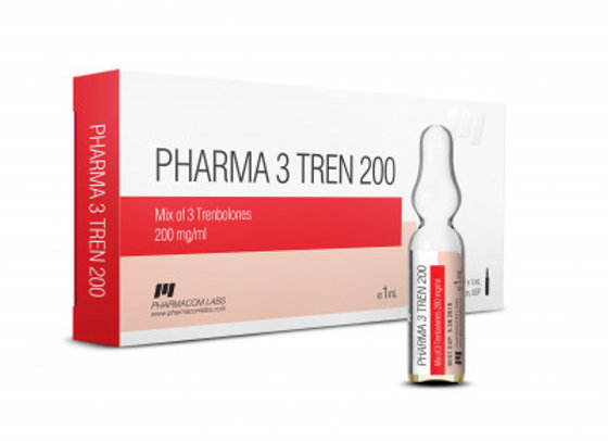 PHARMACOM LABS PHARMA 3 TREN 200mg/ml 10 amp